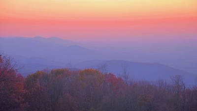 Art Print featuring the photograph Autumn Dawn by Stephen  Vecchiotti