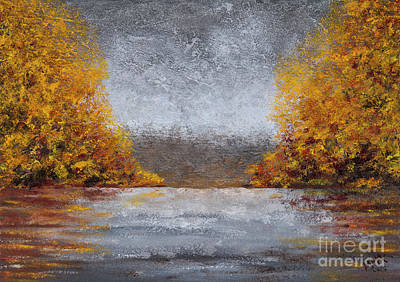 Painting - Autumn Fog by Garry McMichael