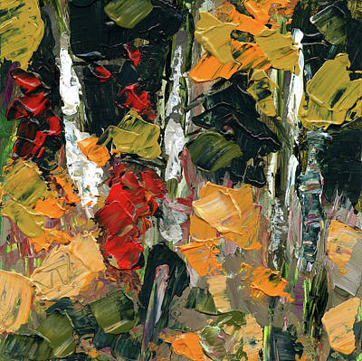 Painting - Autumn Forest by Jim Vance