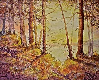 Painting - Autumn Glow by Carolyn Rosenberger