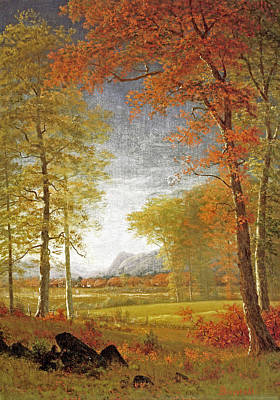 Oneida Painting - Autumn In America by MotionAge Designs