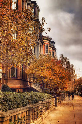 Photograph - Autumn In Boston by Joann Vitali