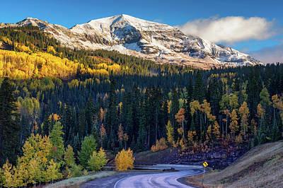 Photograph - Autumn In Colorado by John De Bord
