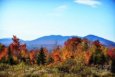 Maine Scene Photograph - Autumn In Maine by Alana Ranney