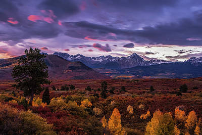 Autumn In The Mountains Art Print by Andrew Soundarajan