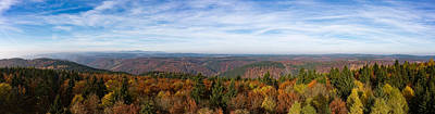 Photograph - Autumn In The Southern Harz by Andreas Levi