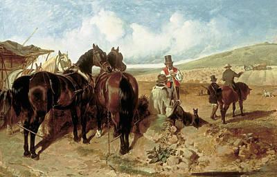 Painting - Autumn by Treasury Classics Art