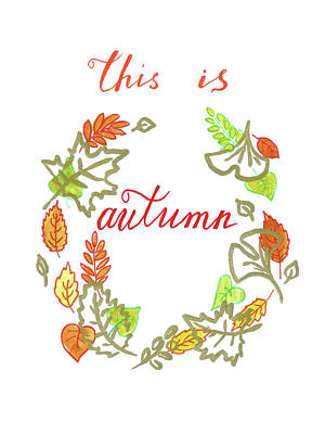Painting - Autumn by Masha Batkova