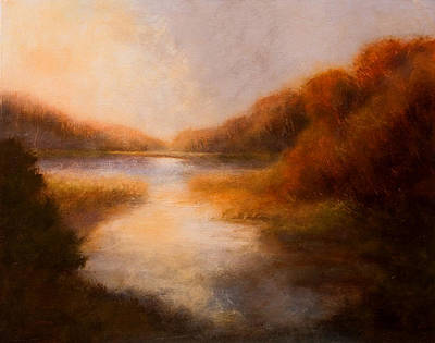 Painting - Autumn Mystery by Jan Blencowe