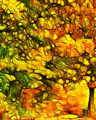 Painting - Autumn Palette by Dan Sproul