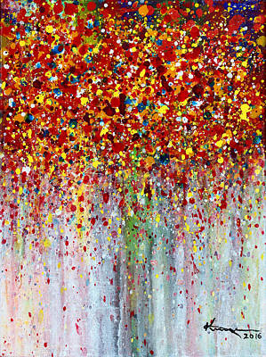 Painting - Autumn Rain by Kume Bryant