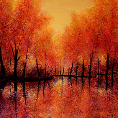 Painting - Autumn Reflections  by K McCoy