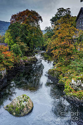 Photograph - Autumn River by Ian Mitchell