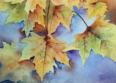 Autumn Splendor Art Print by Bobbi Price