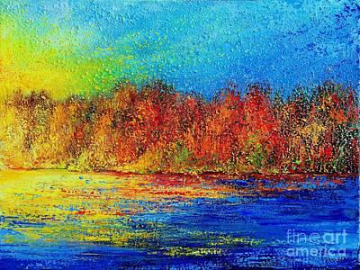 Painting - Autumn by Teresa Wegrzyn