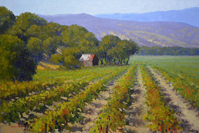 Painting - Autumn Vines by Armand Cabrera