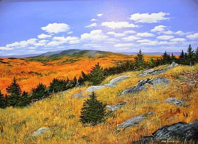Painting - Autumn Vista by Ken Ahlering