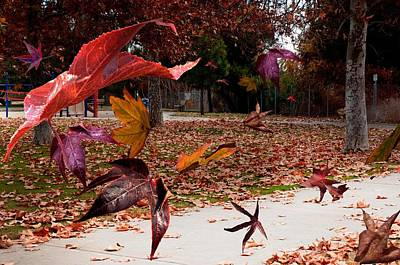 Autumn Wind Art Print by Richard Gordon