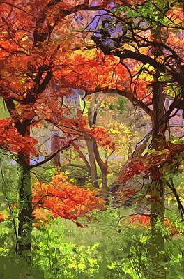 Painting - Autumnal View by Andrea Mazzocchetti