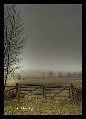 Heather Rivet Photograph - Autumns Pasture by Heather  Rivet