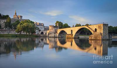 Photograph - Avignon Dawn by Brian Jannsen