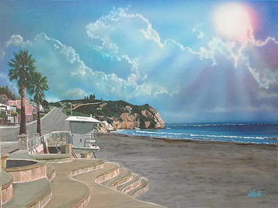 Painting - Avila Beach by Angie Hamlin