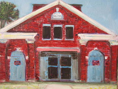Post Restoration Painting - Awaiting Restoration by Malkah Rosen