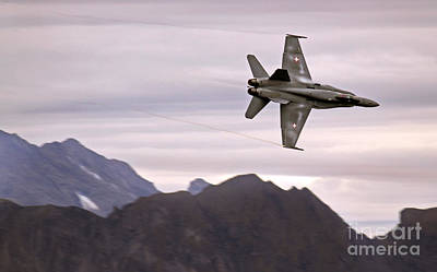 Axalp Art Print by Angel  Tarantella