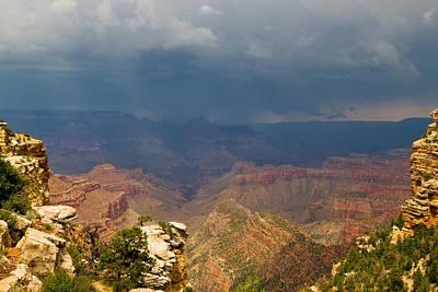 Lightnings Of Arizona Photograph - Az-grand Canyon-s Rim- East Rim Drive by Arlene Waller