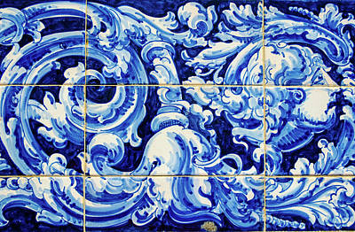 Photograph - Azulejos Of Seville by Andrea Mazzocchetti