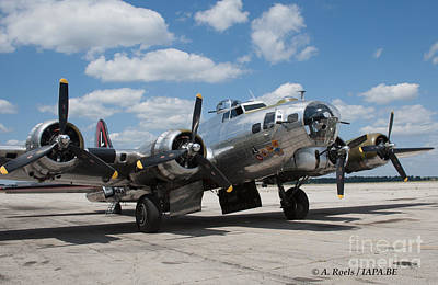 Photograph - B-17 Flying Fortress   by Antoine Roels