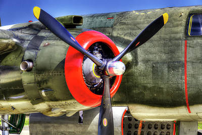 Photograph - B-25 by Joe  Palermo