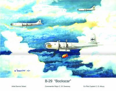 B-29 Bockscar Art Print by Dennis Vebert
