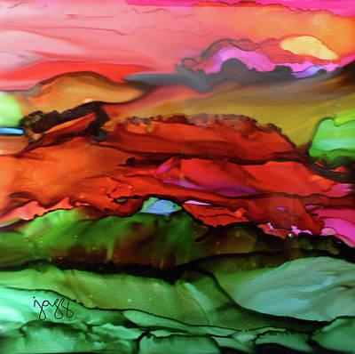 Jazz Art Painting - 1-b Landscape by Jazz Art