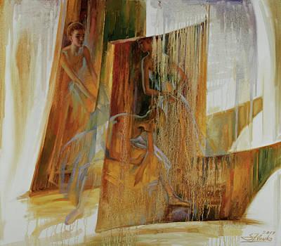 Painting - Ba-ll-et by Serguei Zlenko