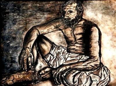 Painting - Baba Jee by Fareeha Khawaja