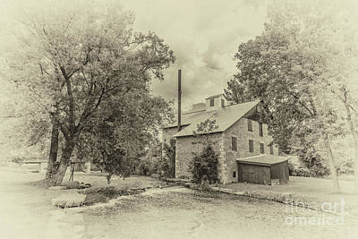 Photograph - Babcock Mill by Gene Healy