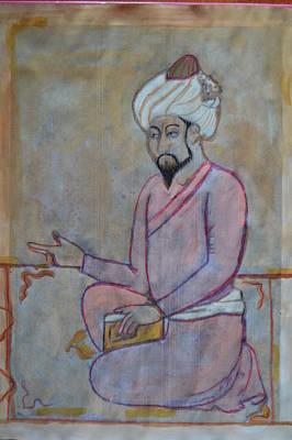 Painting - Babur by Vikram Singh