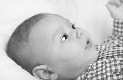 Lying Mixed Media - Baby Boy by Boyan Dimitrov