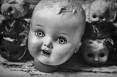 Photograph - Baby Doll Heads by Garry Gay