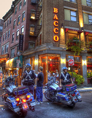Photograph - Bacco Restaurant - Boston by Joann Vitali
