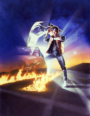 Mystery Digital Art - Back To The Future 1985 by Unknown