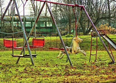 Photograph - Backyard Play by JAMART Photography