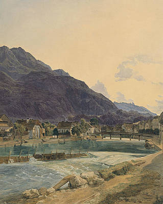 Painting - Bad Ischl by Ferdinand Georg Waldmuller