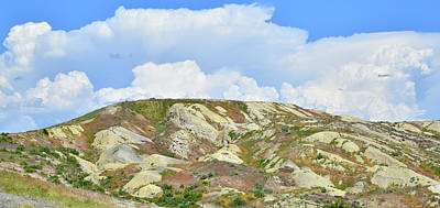 Photograph - Badlands In Wyoming by Ray Mathis