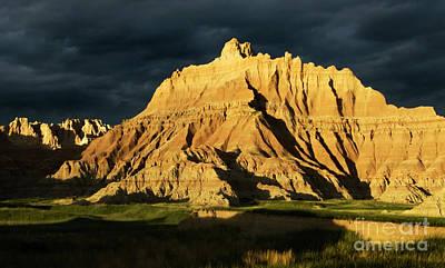 Photograph - Badlands South Dakota by Bob Christopher