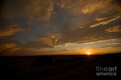 Badlands Sunset Art Print by Chris Brewington Photography LLC