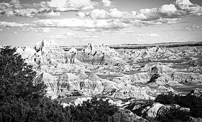 Photograph - Badlands Vista by Library Of Congress