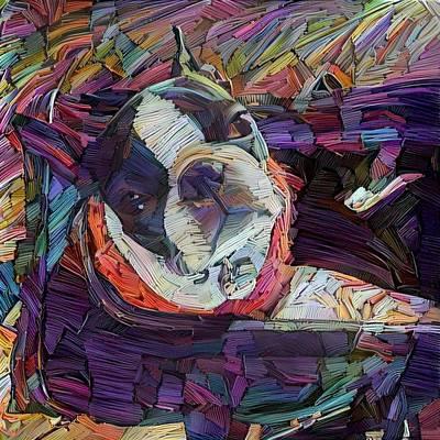 Digital Art - Bailey.d by Richard Laeton