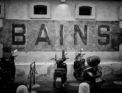 Photograph - Bains by Jessica Levant